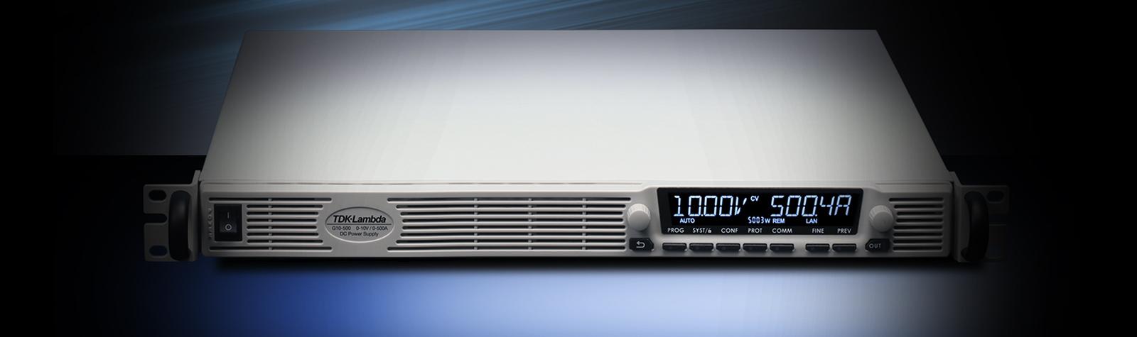 De NIEUWE Genesys+™ : 5 kW in 1U  –  het meeste vermogen in de compactste behuizing