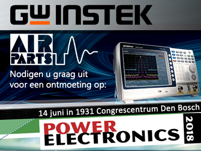 GW Instek en Air-Parts aanwezig op Power Electronics2018