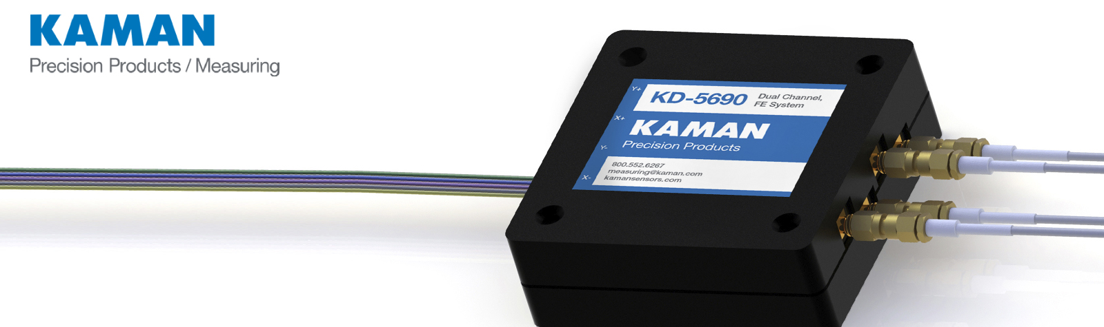 Kaman Precision Products introduceert hun nieuwste Digital Differential Impedance Transducer