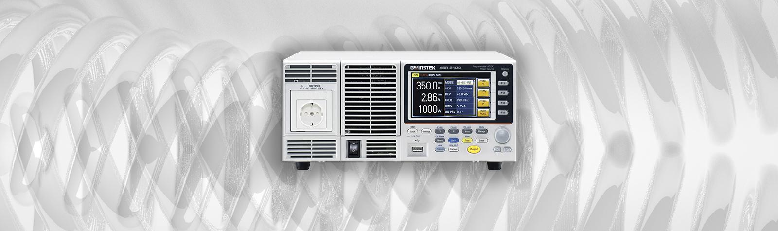 GW-Instek  ASR-2000 Serie Programmeerbare AC/DC Voeding